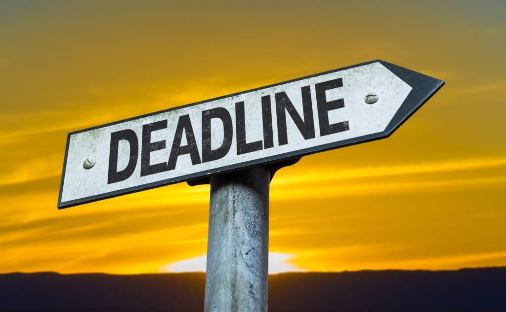 Solo 401k deadline reminder